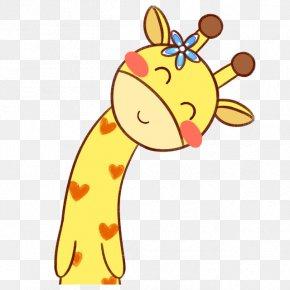 Giraffe Cartoon Float - Northern Giraffe Cartoon Q-version PNG