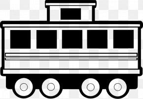 Train - Rail Transport Train Passenger Car Clip Art PNG