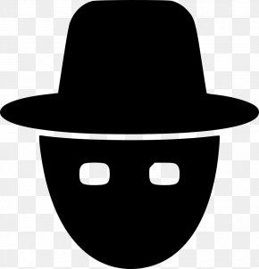 Icon Hacker - Security Hacker Black Hat PNG