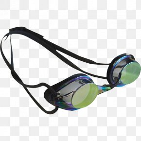 Swim Team Goggles - Goggles Swimming Glasses Arena Tracks Mirror PNG