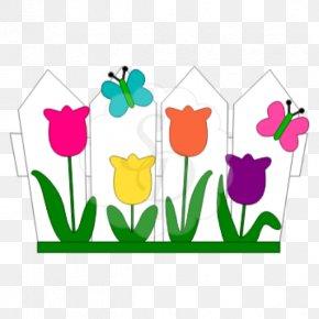 Flower Bed - Floral Design Cottage Garden Flower Garden Clip Art PNG