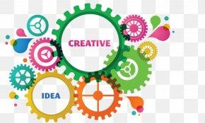 Creative Logo Graphics - Graphic Designer Logo Creativity PNG