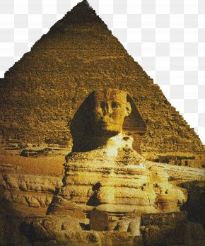 Pyramid - Great Sphinx Of Giza Egyptian Pyramids Hong Kong Poster PNG