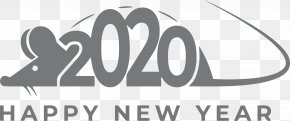 Signage Number - Happy New Year 2020 Happy 2020 2020 PNG