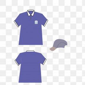 Vector Pattern Material Suit Service Blue - T-shirt Euclidean Vector Blue PNG