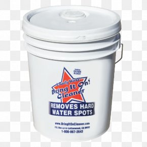5 Gallon Bucket - Hard Water Stain Remover Bring It On Cleaner 32oz What Sets Us Apart Stain Removal Cleaning Bring It On Cleaner Water Spot Remover PNG