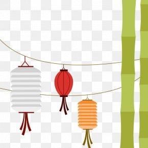 Celebrate Mid-Autumn Festival - Mid-Autumn Festival Mooncake Lantern PNG