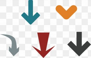 A Row Of Arrows - Arrow Euclidean Vector Download Icon PNG