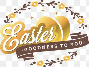 Shine Golden Egg Vine - Black Eggs Easter Clip Art PNG