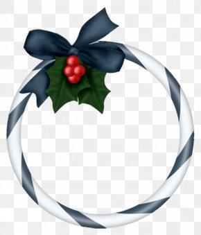 Christmas Decoration Ring - Christmas Decoration Santa Claus Clip Art PNG