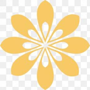 Summer Solstice Pattern Symbol - Petal Clip Art Design Image PNG