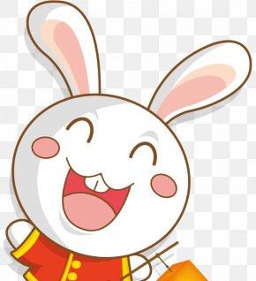 Cartoon Rabbit - Sailor Moon Moon Rabbit Mid-Autumn Festival Cartoon PNG