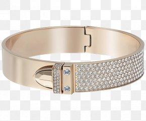 Swarovski Jewelry Gold Bracelet - Bangle Swarovski AG Bracelet Jewellery Online Shopping PNG