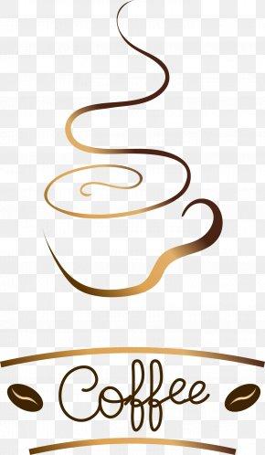 Jane Pen Golden Brown Coffee Logo Logo - Coffee Logo Clip Art PNG