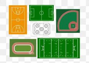 Vector Basketball Court - Football Pitch Athletics Field Euclidean Vector PNG