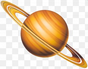 Yellow Jupiter - Earth Solar System Planet PNG