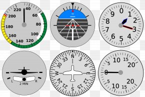 Cockpit Clipart - Aircraft Flight Instruments Airplane Instrument Flight Rules PNG