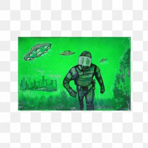 Men In Black Alien Attack - Alien In The House Pop Art Douglas DC-3 PNG