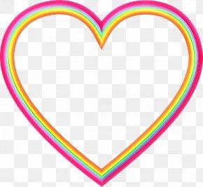 Love Heart - Heart Clip Art Line Love Heart PNG