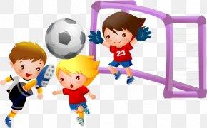 Football - Play Football Child Clip Art PNG