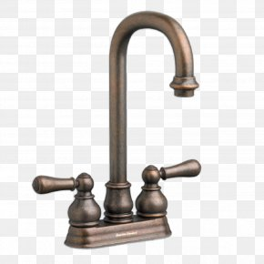 Faucet - Tap Sink American Standard Brands Stainless Steel Brushed Metal PNG