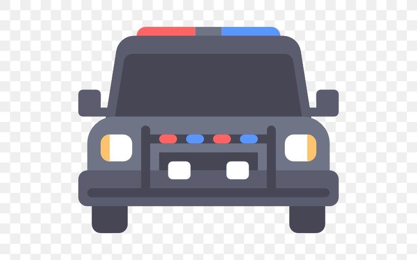 Police Car Icon, PNG, 512x512px, Car, Automotive Design, Automotive Exterior, Blue, Data Download Free