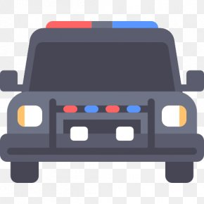 A Police Car - Police Car Icon PNG