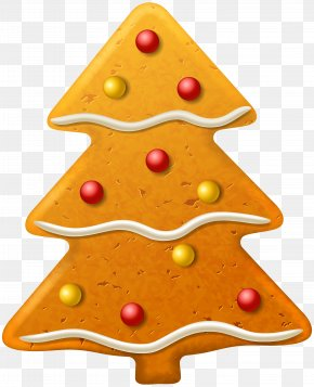 Christmas Cookie Tree Clipart Image - Christmas Cookie Gingerbread Clip Art PNG