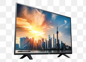 Electronica - LED-backlit LCD Television Set Smart TV Computer Monitors AOC International PNG