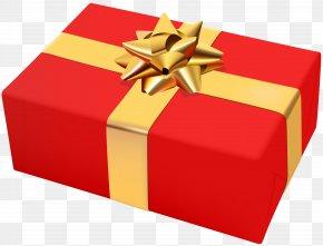 Gift Box - Christmas Gift Christmas Gift Clip Art PNG
