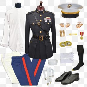 Dress - Military Uniform Uniforms Of The United States Marine Corps Dress Uniform Marines PNG