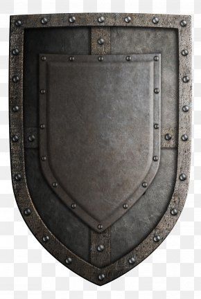 Retro Shield - Middle Ages Crusades Shield Sword Weapon PNG