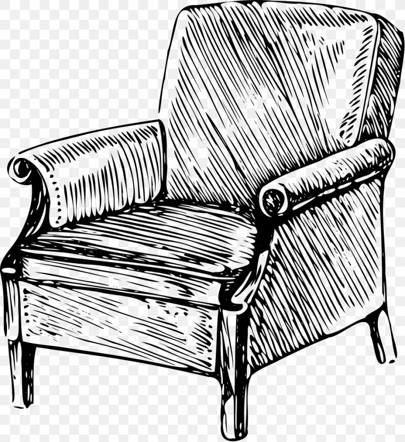 Chair Drawing Table Couch Png 938x1024px Chair Black And