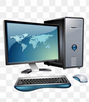Computer - Desktop Computers Personal Computer Clip Art PNG