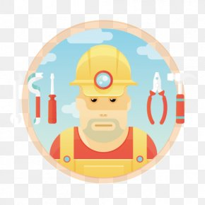 Construction People - Euclidean Vector Icon PNG