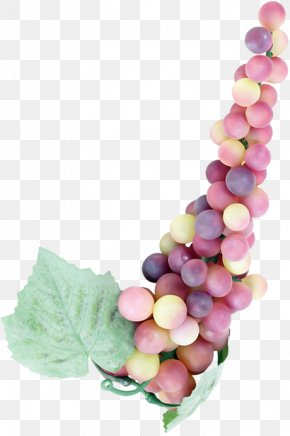 Grape - Grapes Vine Bead Clip Art PNG