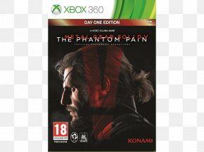 Metal Gear Solid V The Phantom Pain - Metal Gear Solid V: The Phantom Pain Metal Gear Solid V: Ground Zeroes Xbox 360 Metal Gear Solid 2: Sons Of Liberty PNG