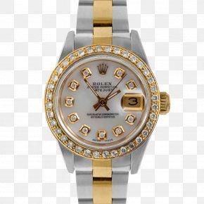 Diamond Bezel - Rolex Datejust Rolex Submariner Rolex GMT Master II Watch PNG