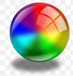 Glossy Orb Cliparts - Sphere Color Circle Clip Art PNG