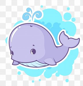 Whales Cartoon Vector Graphics Image Drawing PNG