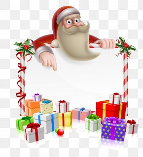 Santa Claus Christmas Gift Decorative Elements - Rudolph Santa Claus Reindeer Christmas Cartoon PNG