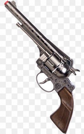 Gun - Firearm Revolver Weapon Cowboy Action Shooting Pistol PNG