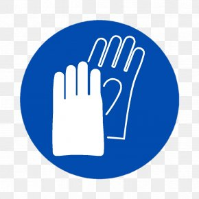 Safety - Personal Protective Equipment Sign Glove Safety Hand PNG