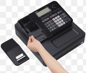 Cash Register - Cash Register Office Supplies Casio 0 PNG