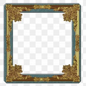 Gold Frame - National Portrait Gallery Picture Frames Painting Decorative Arts PNG