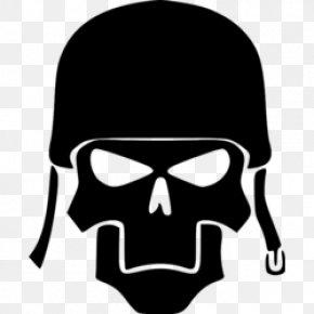 Skull - Decal Sticker Human Skull Symbolism Sealing Wax Die Cutting PNG