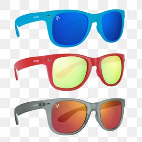Sunglasses - Goggles Sunglasses Light Red PNG