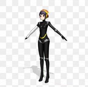 Three-dimensional Artistic Characters - Shin Megami Tensei: Persona 3 MikuMikuDance Hatsune Miku Character Aigis PNG