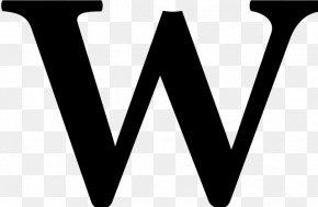 Wüste - Letter Wikipedia Typeface Alphabet Font PNG
