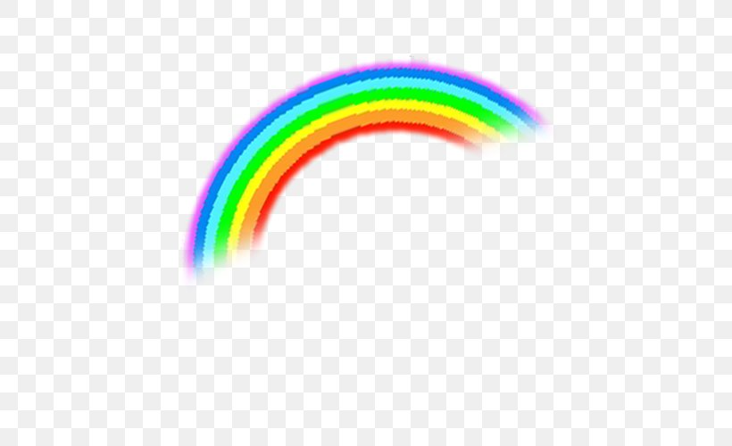 Rainbow Euclidean Vector, PNG, 500x500px, Rainbow, Arc, Cartoon, Drawing, Element Download Free